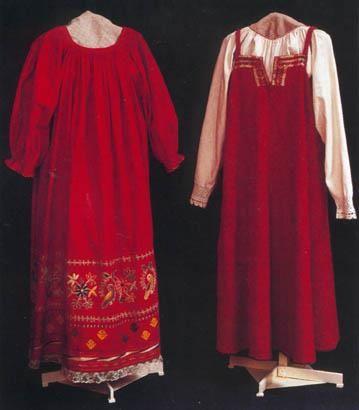 Свадебный костюм древней руси