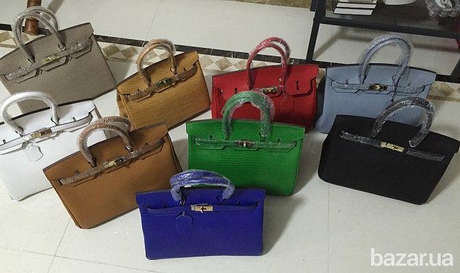 Стильные кожаные сумки и кошельки - качественные копии известных брендов. Стильные кожаные сумки HERMES BIRKIN 35см • Материал: 100% натуральная...