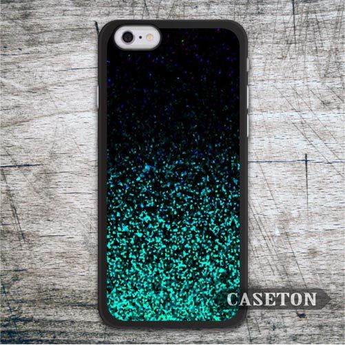 Green Black Glitter Case For iPhone 7 6 6s Plus 5 5s SE 5c and For iPod 5 High Quality Classic Cover Retail Wholesale //Price: $US $2.99 & FREE Shipping //     #apple