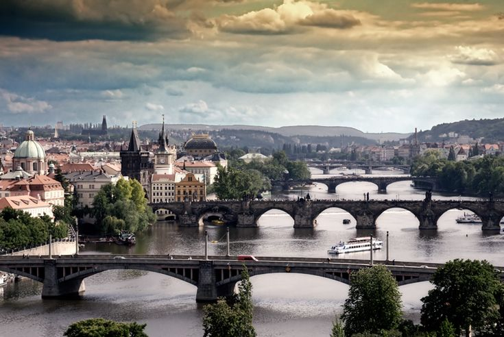Prague..... I was last there in 1991 and have such incredibly fond memories of my time in this city.