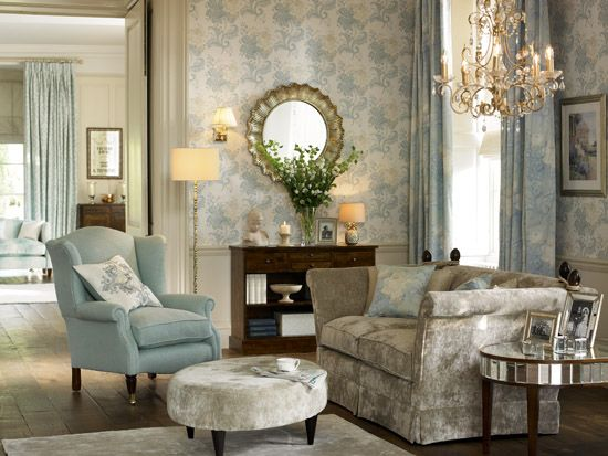 115 best An ode to Laura Ashley and coloured walls images on ...