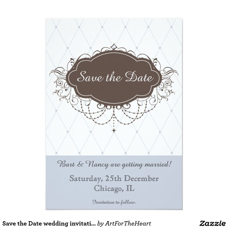 109 best save the date best cards invitations for weddings save the date wedding invitation card invite blue stopboris Images