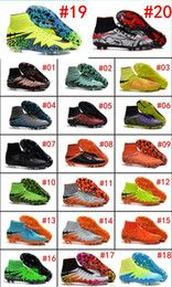 Hot Sell Hypervenom Phantom II FG High Ankle Unrivalled Agility Total Control Soccer Shoes Boots High-Top Cleats Laser FGI Football Shoes