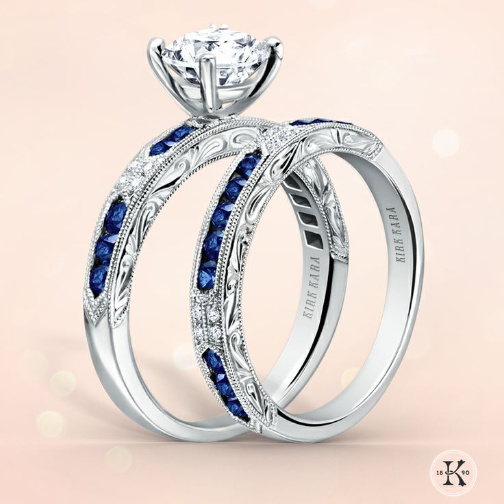 Kirk Kara Shire Engagement Ring Wedding Band From The Charlotte Collection Style K1390sd R