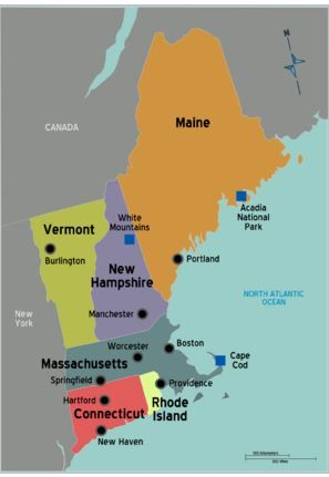 The toughest thing about a New England road trip is deciding where to go. The choices are endless and options appealing to every type of terrain
