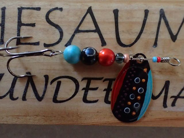 Truite Dundee - made in Gaule: Cuiller « Thesaumon-23 »