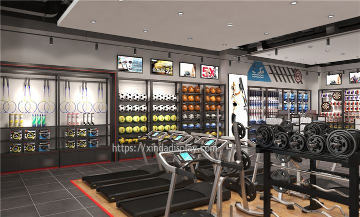 Modern Gym Equipment Store Display Activewear Fitness Shop Interior Design Ideas Shop Interior Design Shop Interior Retail Store Design