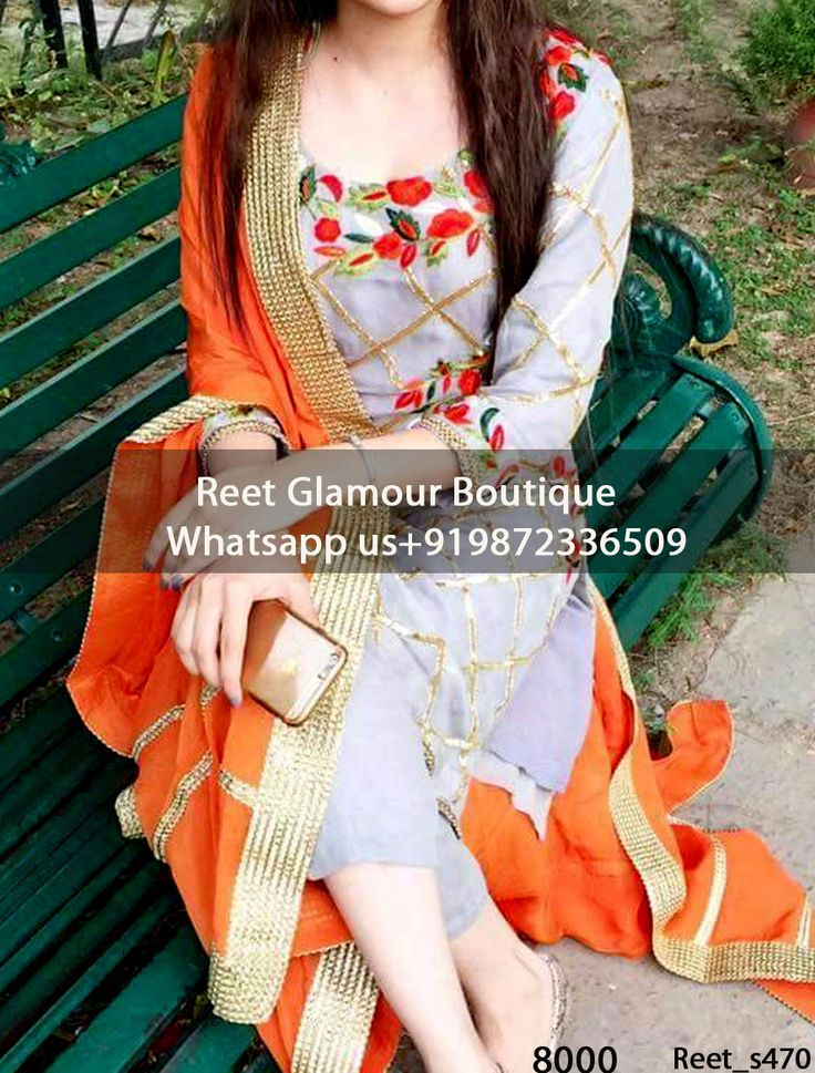 Resplendent Gray And Orange Embroidered Punjabi Suit Buy Link : https://goo.gl/fuEewQ Product Code : Reet_Em470 For more details whatsapp us: +919872336509 We can design this Suit in any color combination or on any fabric (price may vary according to fabric)