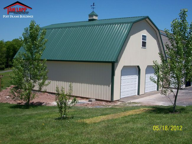 11 best pole barn ideas images on pinterest pole barns Gambrel roof pole barn