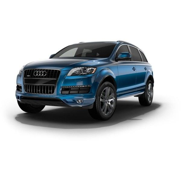 Build your own Audi Q7 - Car configurator | Audi USA ❤ liked on Polyvore featuring cars