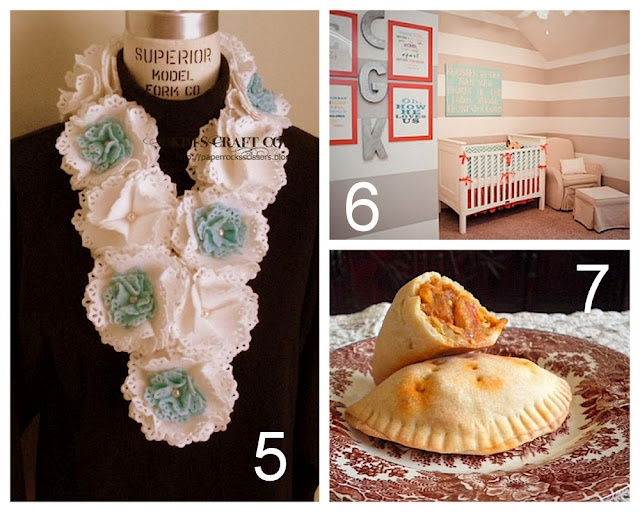 #5 Felt Flower Scarf DIY (with link) using Spellbinders (will not pin from blog site)