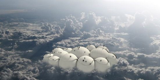 Escaping the ground: Tiago Barros, Passing Cloud Project, 2006