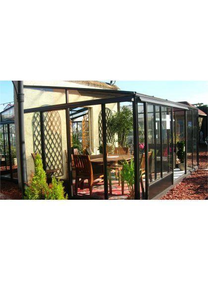 Les 25 meilleures id es de la cat gorie abri jardin pas - Jardin d hiver veranda ...