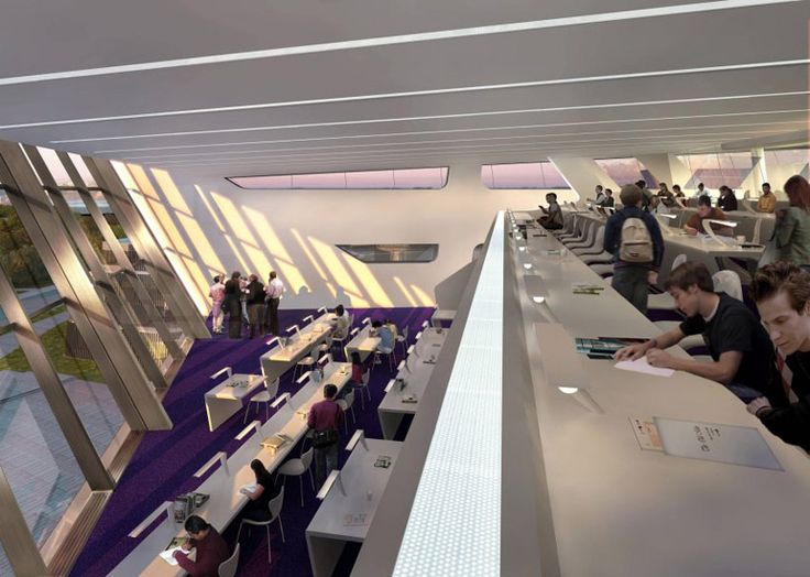 Zaha Hadid Library And Learning Center Opens In Vienna Austria