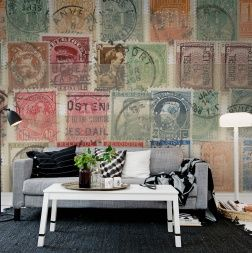 Filatelistens dröm - en liten men stor samling av några vackra frimärken.
