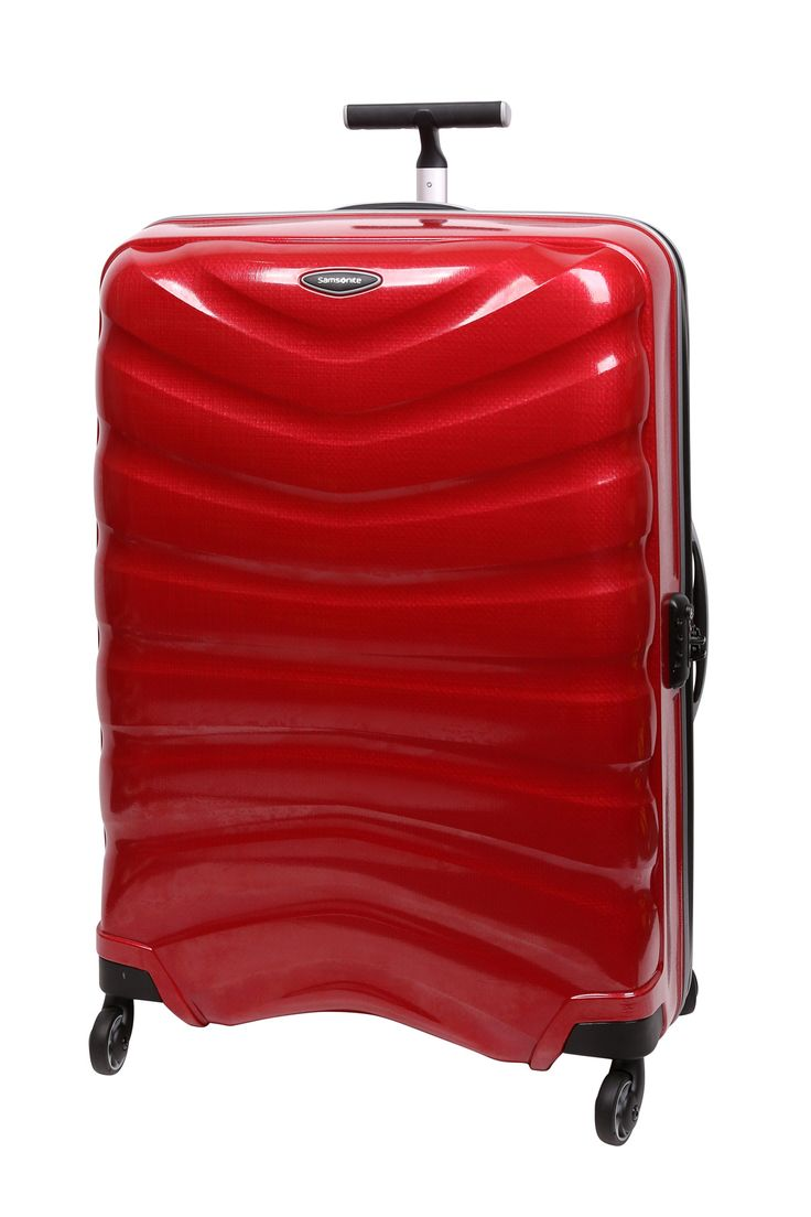 Samsonite // Firelite 81cm Spinner Case. Also available in blue and charcoal.