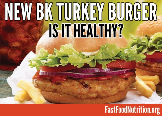 Fast Food Places With Turkey Burgers