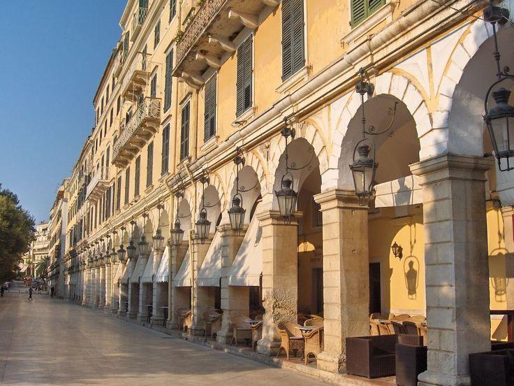 corfu town -