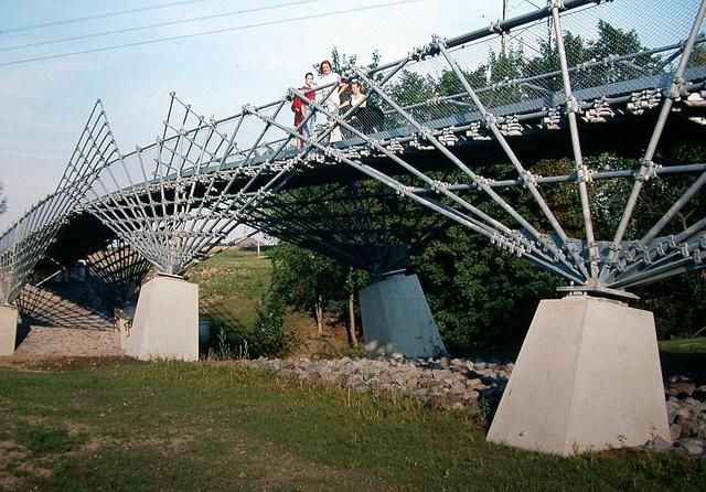 Frei-Otto-Brücke Rotthausen in Gelsenkirchen  di stadt_gelsenkirchen