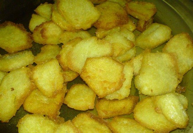 Krumpligombóc pirítva