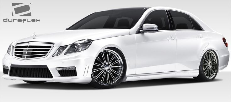 2010-2013 Mercedes E Class W212 Duraflex E63 AMG Look Body Kit - 4 Piece