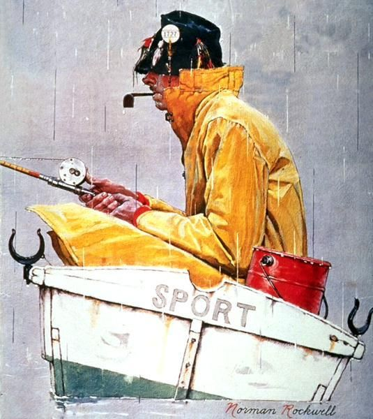 Norman Rockwell.                                                                                                                                                      More