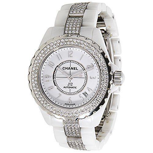 Chanel J 12 H1422 Unisex Diamond Watch in White Ceramic (... https://www.amazon.com/dp/B01MRY9YJG/ref=cm_sw_r_pi_dp_x_uvxAyb2YY4TV5