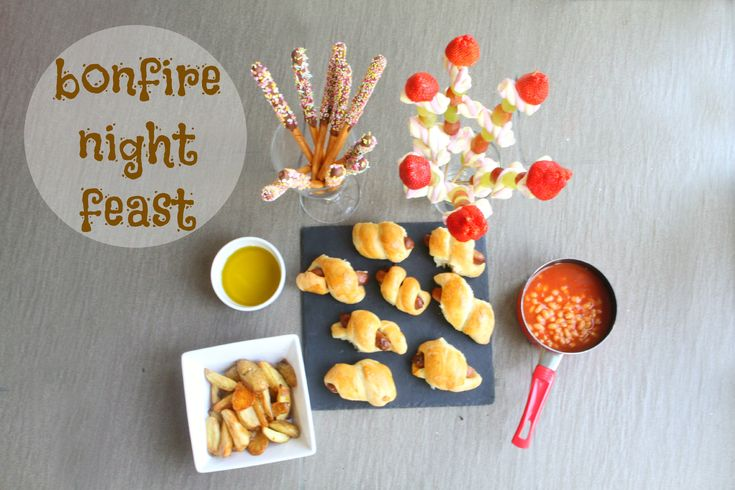 bonfire night feast