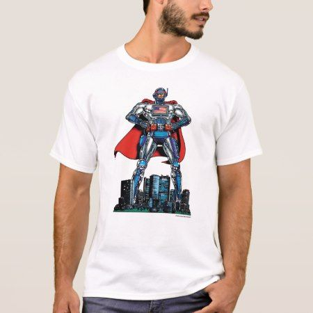 American Computer Superhero T-Shirt - tap, personalize, buy right now!