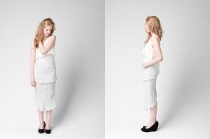 Linen skirt from Month of Sundays