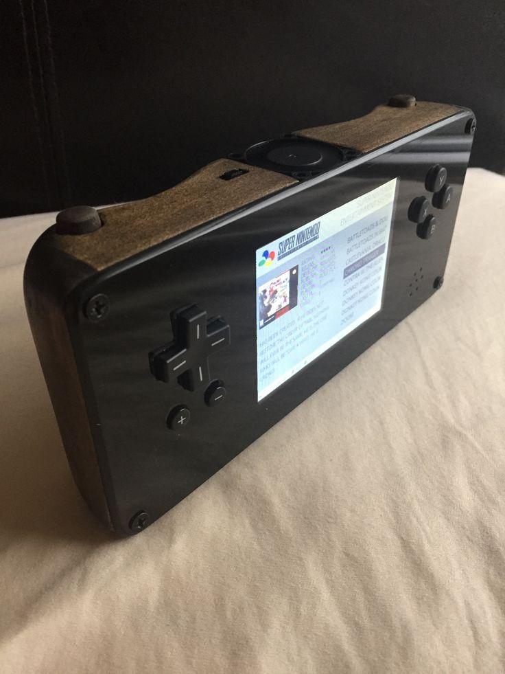 """""""Pine-Tendo Switch"""" - Raspberry Pi 3 Handheld Emulator"""