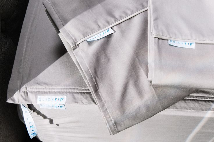 QuickZip: More Comfort Less Work. 21st Century design, great fit and beautiful fabric. Traditional fitted sheets are hard to change, hard to wash, fold and sto