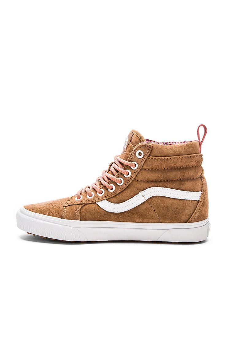 Vans SK8-Hi MTE Sneaker in Toasted Coconut & True White | REVOLVE