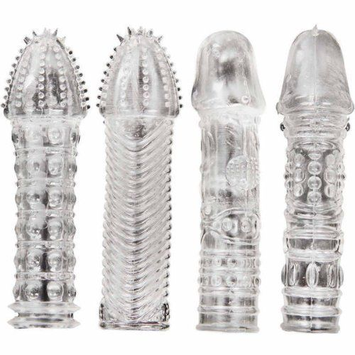Akstore 2014 New Arrive 4 Pcs Sex Toys Man's Pride Male Glans Penis Enlargement Enhancer Extender Crystal Silicone Cockring Condom with Thorn Delay Ejaculation Penis Sleeve Excite-her Erotic Pleasure Adult Tools Products for Men Akstore http://www.amazon.com/dp/B00MUHNVBQ/ref=cm_sw_r_pi_dp_xg2qub17DWCC6