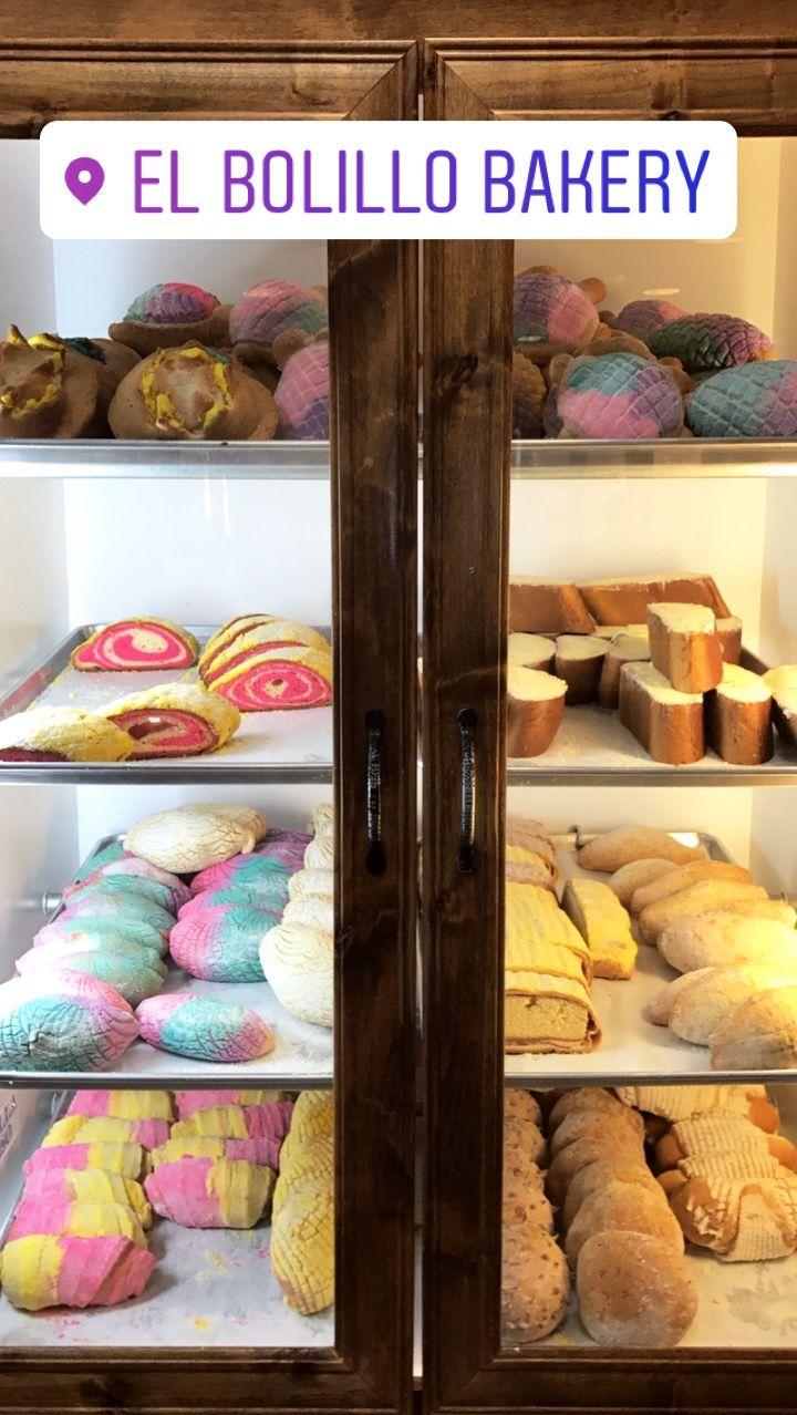 PAN DULCE from El BOLILLO BAKERY in HOUSTON, TX #elbolillobakery #elbolillo #bolillo #panaderia #pandulce #bakery #bake #concha #pasteleria #houston #tresleches #empanada #cake #local #mexican #mexicandessert #mexicanbakery #food #postres #dessert #breakfast #uniconcha #concha #cafe #coffee #desayuno #mexico #summer #unicorn #color #fiesta #party #sweet #pan #bread #traditional #cuernito