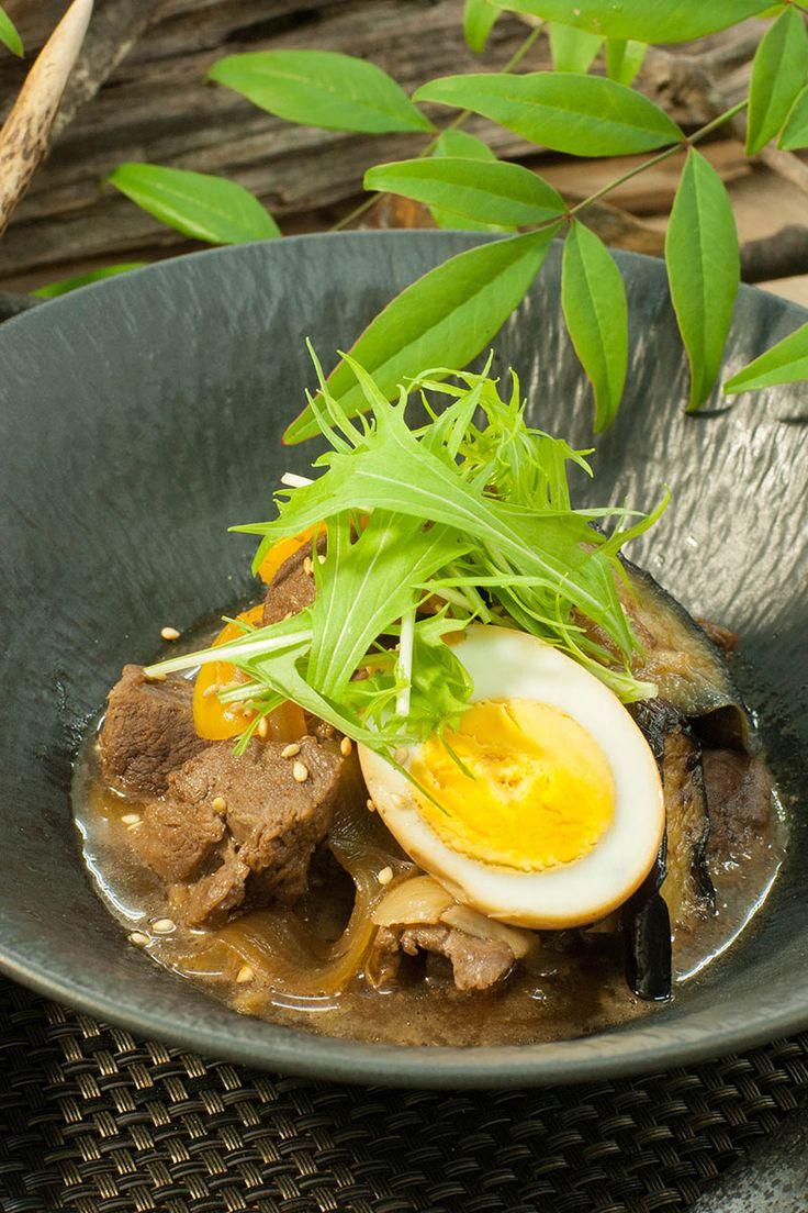 鹿カタ肉の酢っぱ煮