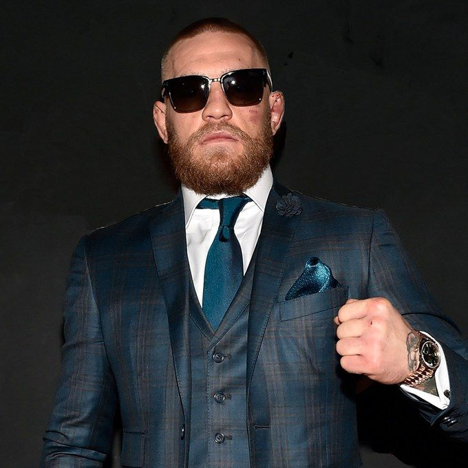 Conor McGregor's Post-Fight Suit Was A One-Two Style Punch