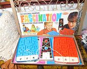 Remco Fascination The Electric Maze Game 1968, Vintage Maze Game, Vintage Board Game, Vintage Toys,