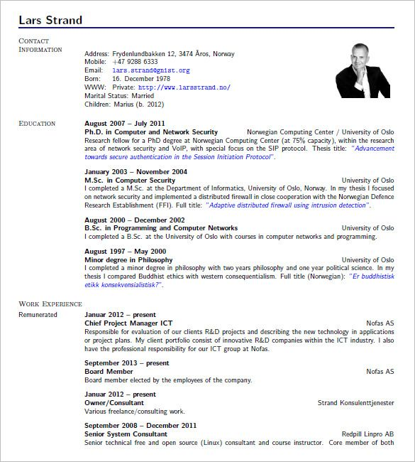 free resume templates latex 3 free resume templates sample