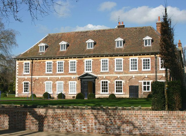 Hall Place, Bexley This is the rear, south side of the house facing the River Cray and dating from the C17.