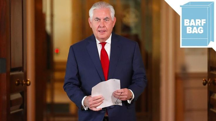 Taking Words Right Out of My Mouth, Trump's Secretary of State Reportedly Called Him a 'Fucking Moron'