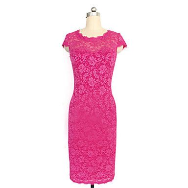 Para Women's Lace Slim Dress – CAD $ 19.45