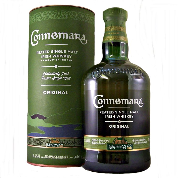 Connemara Single Malt Irish Whiskey from the Kilbeggan Distilling Company to buy online at our specialist whisky shop whiskys.co.uk