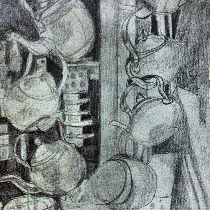 teapots at the bazaar