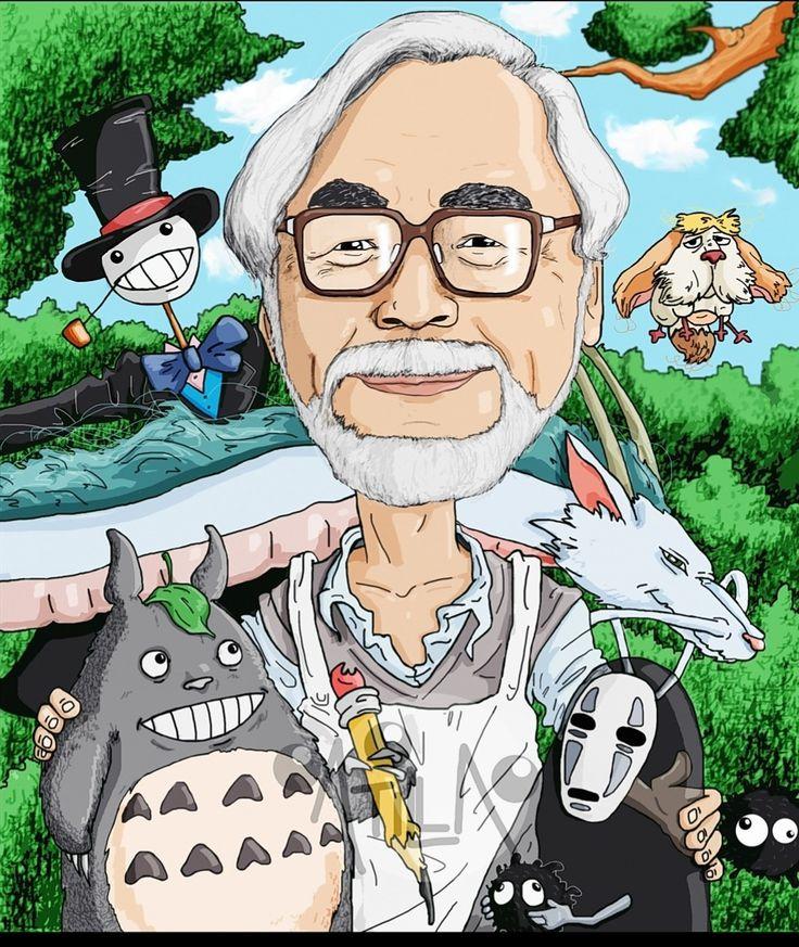 Картинки творчества хаяо миядзаки, надписью моя