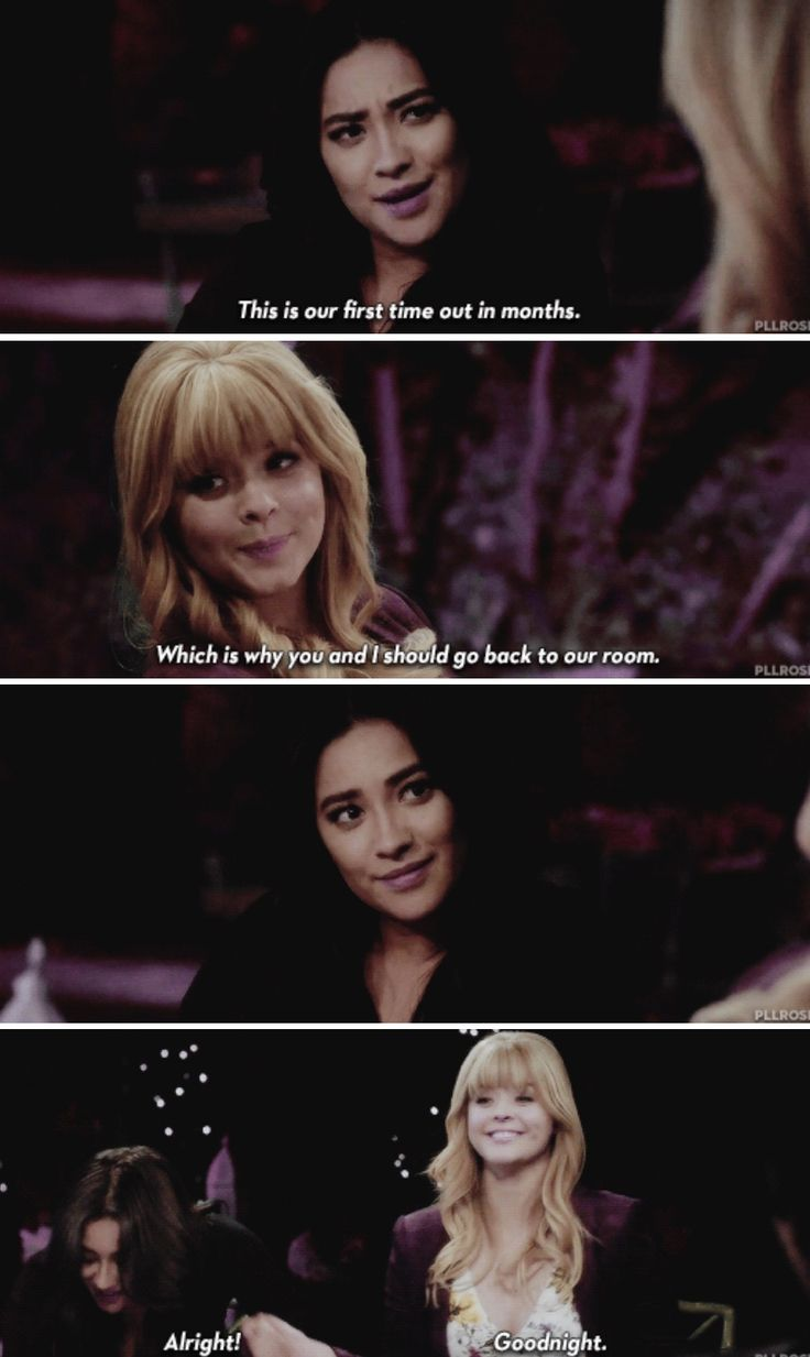 "#PLL 7x20 ""Til Death Do Us Part"" - Emily and Ali"