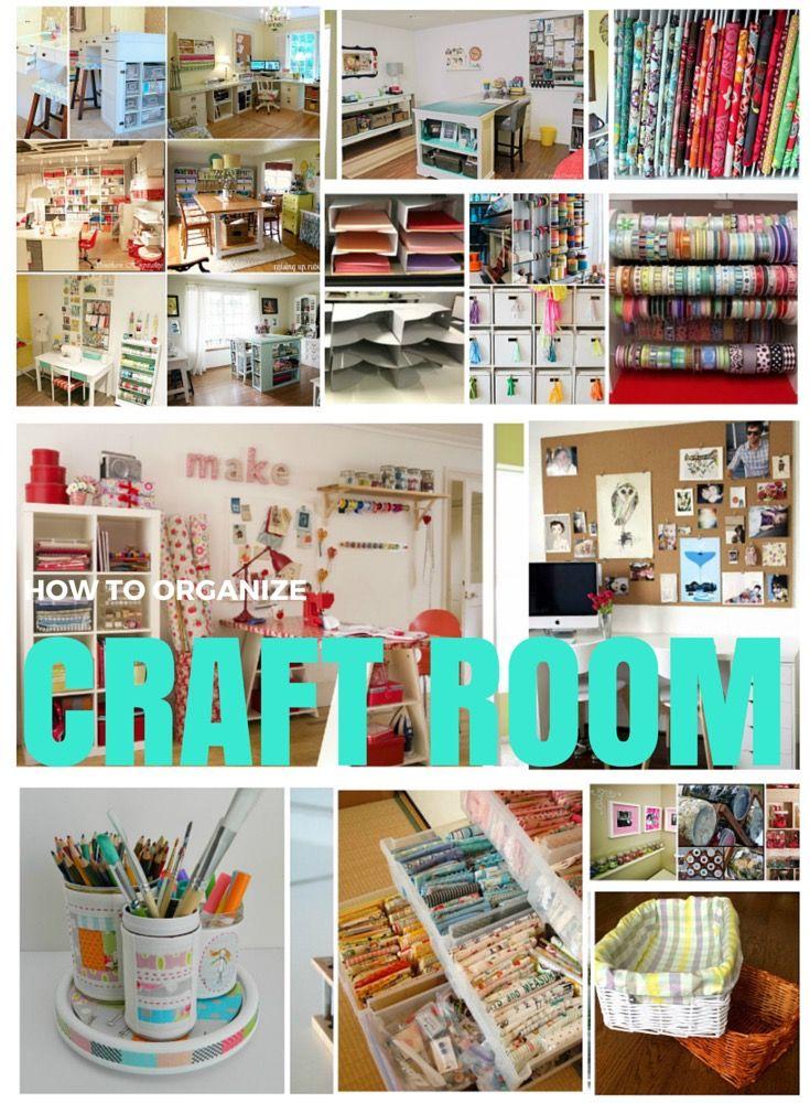 'How to organize your craft room...!' (via Anna Pawelec)