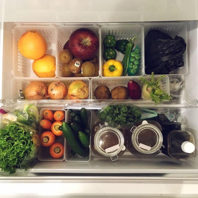食費の節約・調理の時短につながる冷蔵庫整理のコツ | RoomClip mag | 暮らしとインテリアのwebマガジン