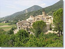 Venterol, het dorp