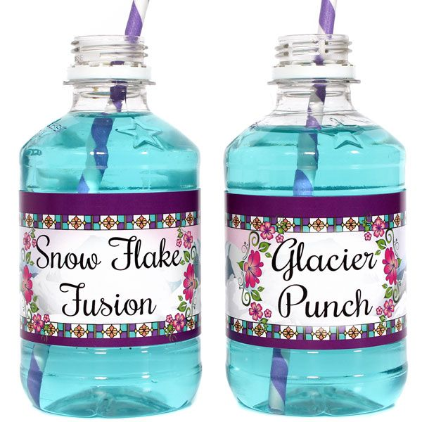 These would be cute for a Frozen birthday party!